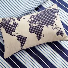 World Map Duvet Cover Uk by Willis Navy Striped Bedding By Peacock Blue At Bedeck 1951