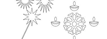 printable diwali coloring page download