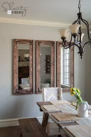diy rustic full length mirrors rustic wall mirrors rustic walls