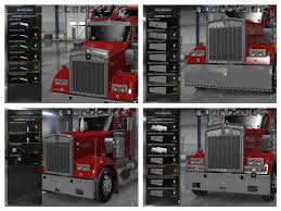 kenworth parts and accessories kenworth w900 accessories pack ats mods american truck simulator