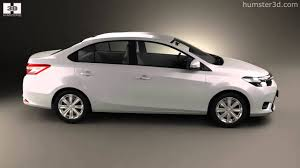 toyota yaris all models toyota yaris sedan 2014 by 3d model store humster3d com