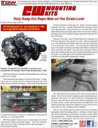 Ford F350 Repo Truck - clutch pump kits