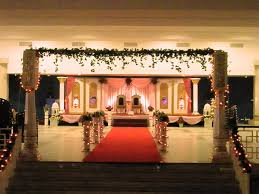 traditional wedding decoration