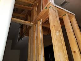 wood framed wall how to identify if wood framed wall is load bearing home