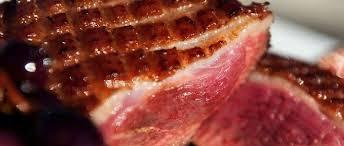cuisiner un filet de canard magret le steak de canard le point