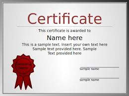 certificate of appreciation template powerpoint 30 free