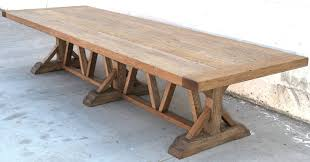 Antique Outdoor Benches For Sale by Massive Vintage Oak Farm Table For Sale At 1stdibs