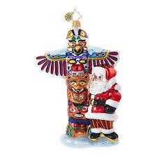 christopher radko ornaments radko destinations totem pole