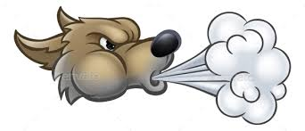 big bad wolf blowing by krisdog graphicriver