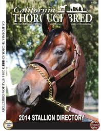 lexus woodhaven winnipeg california thoroughbred 2014 stallion directory by ctba issuu