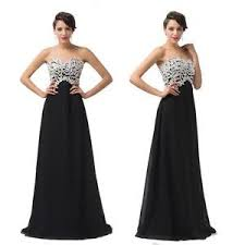 black and white wedding dresses black and white dress dresses ebay