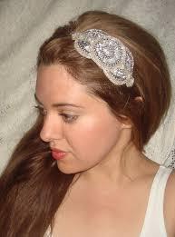 sequin headbands headband royale silver rhinestone headband headband