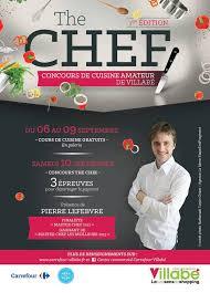affiche atelier cuisine des ateliers culinaires gratuits au centre commercial de carrefour