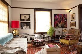 livingroom paintings bohemian living room space room furniture family design drapes