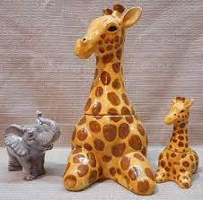 antique giraffe ring holder images Giraffe cookie jar by sakura animal cookie jars pinterest jpg