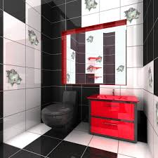 bathroom design marvelous teal bathroom red black and white