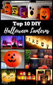 Halloween Decorations For Adults Gorgeous Glowing Diy Halloween Lanterns Rhythms Of Play