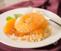 peach and pineapple upside down cake tastefully simple