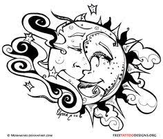 sun and moon tatoos 12 tribal sun tattoos meanings and symbols