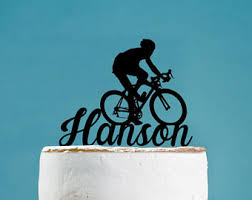 bicycle cake topper bicycle cake topper etsy