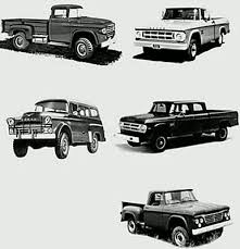 1959 dodge truck parts vintage power wagons w100 w200 dodge truck parts information