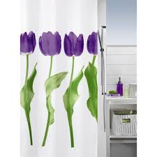 Shower Curtains Purple Tulip Luxury Shower Curtain Purple Notjusttaps Co Uk