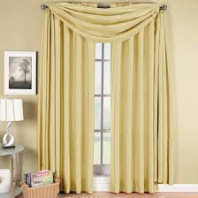 up to 60 off soho faux silk window treatment scarf or panel single