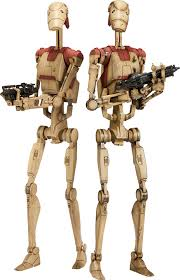 security battle droids sixth scale figure sideshow