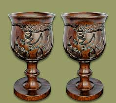 Wine Goblets African Tableware Wholesale Supplier Earth Africa Curio