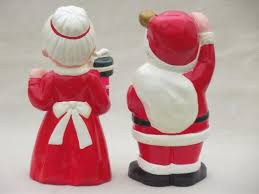Christmas Decorations Large Santa Claus by Vintage Inarco Ceramic Christmas Decorations Large Santa U0026 Mrs Claus