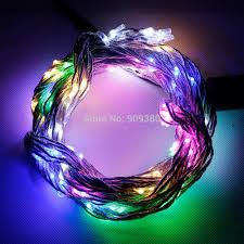 Garland Fairy Lights by Cheap Multicolor Garland Lighting 200 Led Silver Vine Starry Fairy