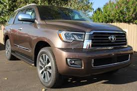 toyota sport utility vehicles new 2018 toyota sequoia limited sport utility vehicle in santa fe