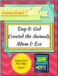 bible fun for kids the creation for kids day 6