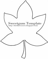simple leaf outline printable 28 images makers and shakers how