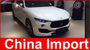 maserati china maserati levante import china different manufacturer export china