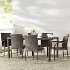rattan dining room furniture dining room grey rattan dining chairs with brown wicker dining