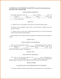 6 simple partnership agreement template free joblettered 31