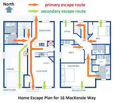 home escape plan emergency evacuation plans for businesses fire plan small