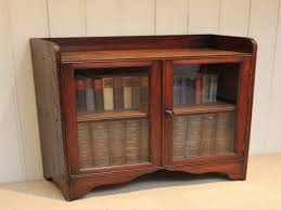 antique oak bookcase with glass doors short bookcases with doors photos yvotube com