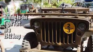 jonga jeep seeing jaipur in a wwii army jeep youtube