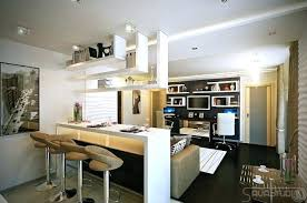 cuisine ouverte sur salon surface bar cuisine ouverte bar cuisine salon affordable cuisine bar