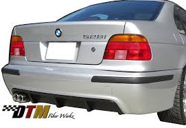 bmw e39 rear dtm fiber werkz for bmw e39 available in frp cfrp