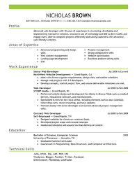 Technical Skills Examples Resume by Resume Examples Templates Good Example Resumes Student And
