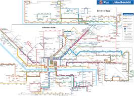 Metro Maps Metro Map Of Bremen Metro Maps Of Germany U2014 Planetolog Com