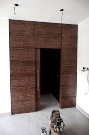 Wall Partition Fukusu Custom Made Wall Partition With Walk In Wardrobe And Bed