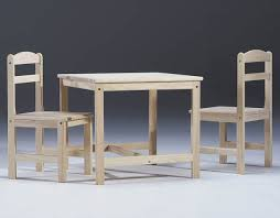 unfinished childrens table and chairs buy kids table and chair set unfinished wood unfinished 22 h x