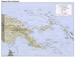 map new papua new guinea maps perry castañeda map collection ut