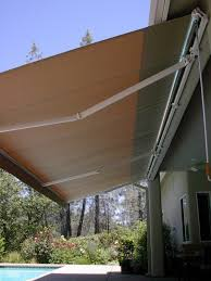 Awnings For Patio Custom Retractable Awnings And Shade Covers