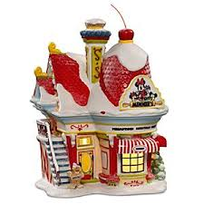disney light up minnie s bakery building by dept 56 disney