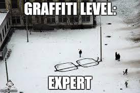 Graffiti Meme - glasses graffiti imgflip